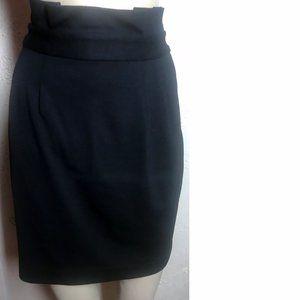 Banana Republic Black Stretch Skirt Size 10